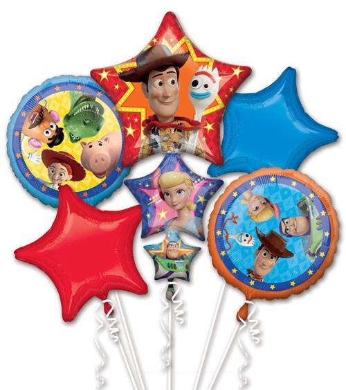 """Folienballon-Set """"Toy Story 4"""" - 5-teilig"""