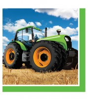 """Servietten """"Traktor"""" - 16 Stück"""