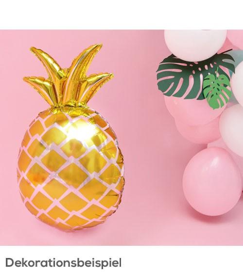 "Supershape-Folienballon ""Ananas"" - 38 x 63 cm"