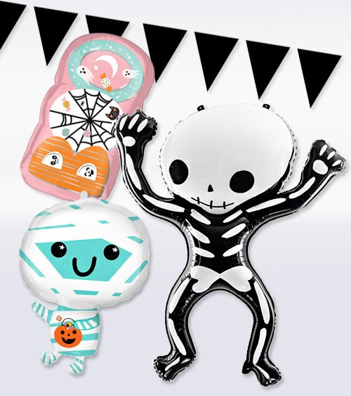 "Ballon-Set ""Halloween Icons"" - 4-teilig"