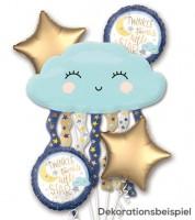 """Folienballon-Set """"Twinkle twinkle little Star"""" - 5-teilig"""