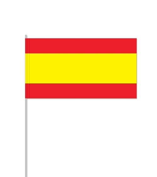 "Papierflaggen ""Spanien"" - 10 Stück"