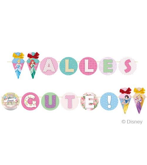 "DIY Einschulungs-Girlande ""Disney's Princess"" - personalisierbar - 2 m"
