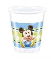 "Plastikbecher ""Baby Mickey"" - 8 Stück"