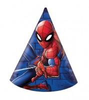 """Partyhüte """"Spiderman - Team Up"""" - 6 Stück"""