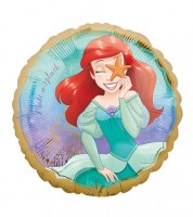 "Runder Folienballon ""Disney Princess - Arielle"" - 43 cm"