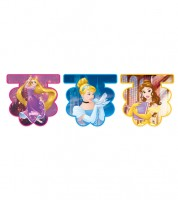 "Wimpel-Girlande ""Disney Princess"" - 2,3 m"