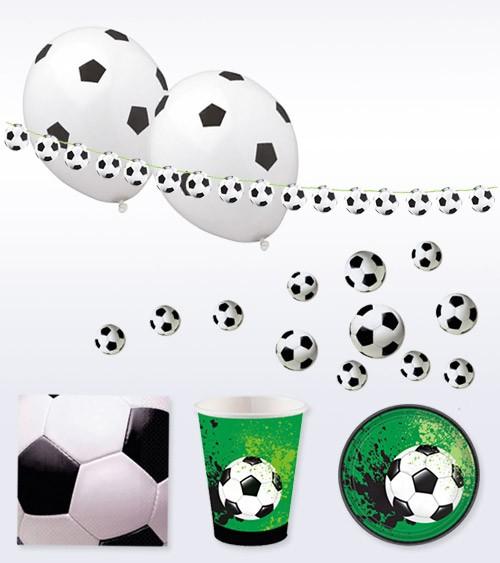 "Deko-Set ""Fußball-Party"" - 42-teilig"