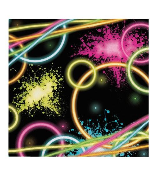 """Servietten """"Neon Party"""" - 16 Stück"""