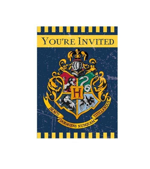 "Einladungskarten ""Harry Potter"" - 8 Stück"