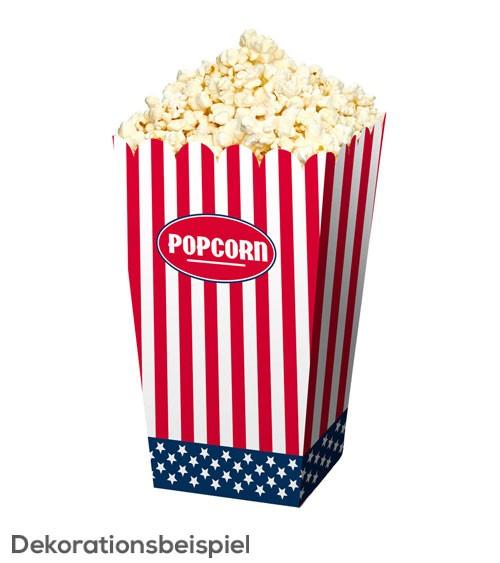"Popcorn-Boxen ""USA"" - 4 Stück"