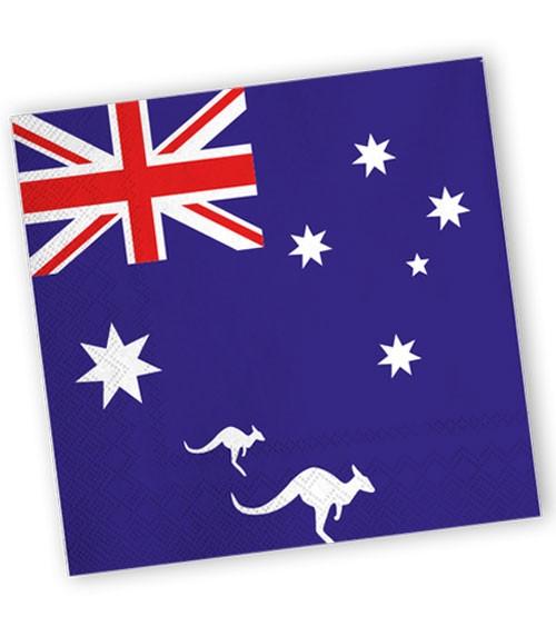 """Servietten """"Australien"""" - 20 Stück"""