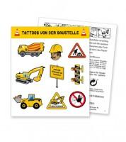 "Tattoos ""Baustelle"" - 1 Bogen"