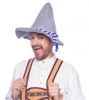 """Seppelhut """" Oktoberfest"""" - blau/weiß"""