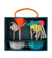 "Cupcake-Kit ""Under the Sea"" - 48-teilig"