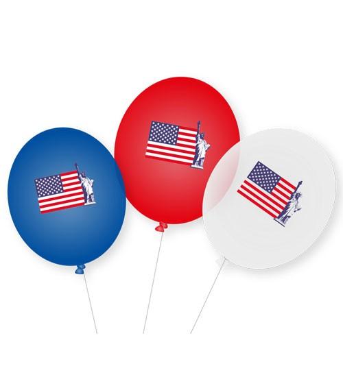 "Luftballons ""USA"" - 9 Stück"
