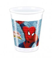 "Plastikbecher ""Ultimate Spiderman - Web Warriors"" - 8 Stück"
