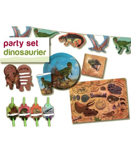 """Party-Set """"Dinos"""" für 8 Personen"""