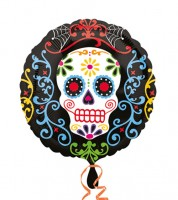 "Folienballon ""Day of the Dead"" - 43 cm"
