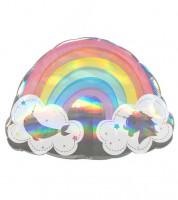 """SuperShape-Folienballon """"Magical Rainbow"""" - 71 x 50 cm"""