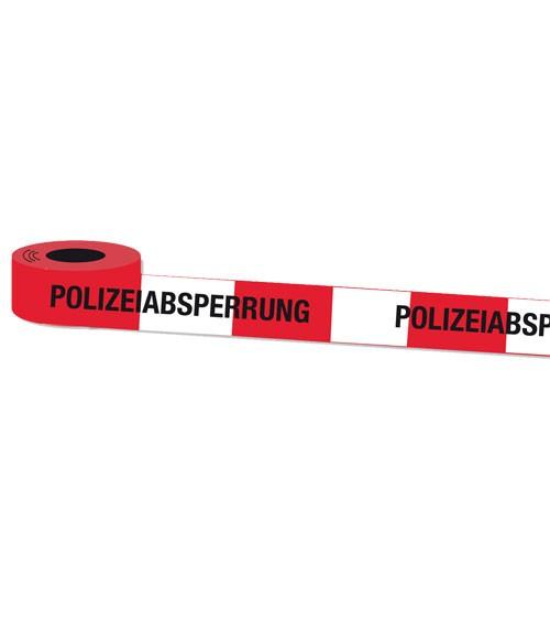 """Absperrband """"Polizei"""" - 10 m"""