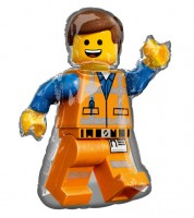 "Supershape-Folienballon ""Lego Movie 2"" - Emmet - 60 x 81 cm"