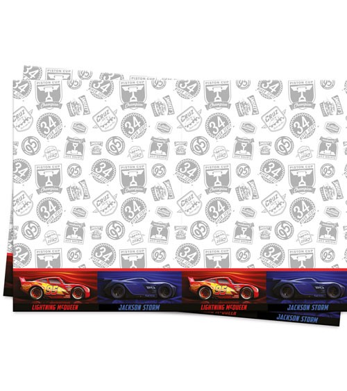 """Kunststoff-Tischdecke """"Cars - The Legend of the Track"""" - 120 x 180 cm"""