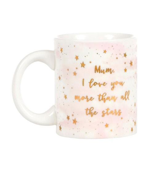 """Tasse aus Keramik """"Mum I love you"""""""