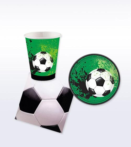 "Deko-Set ""Fußball-Party"" - 32-teilig"