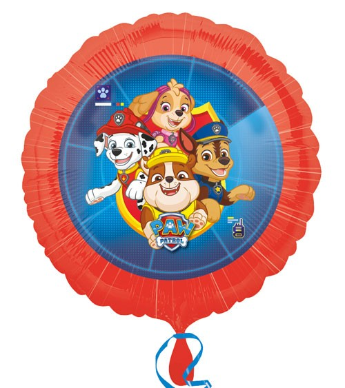 "Folienballon ""Paw Patrol - Helfer auf vier Pfoten"" - 45 cm"