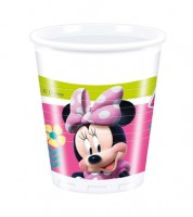 "Plastikbecher ""Minnie Happy Helpers"" - 8 Stück"