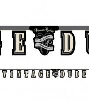 """Schriftzuggirlande """"Vintage Dude"""" - 2,67 m"""