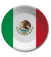 """Pappteller """"Mexico"""" - 10 Stück"""