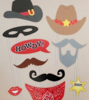 "Photobooth-Set ""Cowboys"""