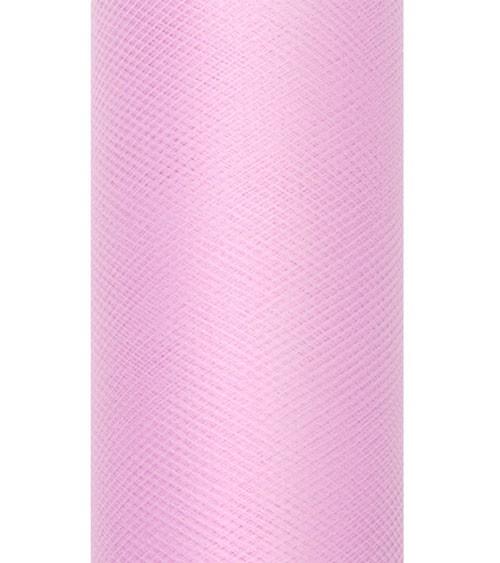 Tischband aus Tüll - rosa - 15 cm x 9 m