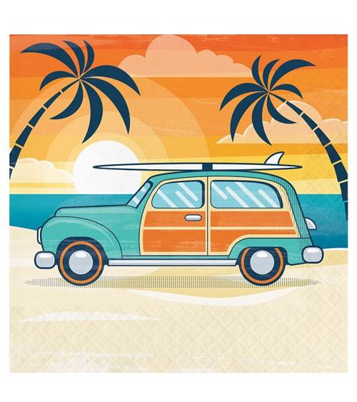 """Servietten """"Summer Surfing"""" - 16 Stück"""