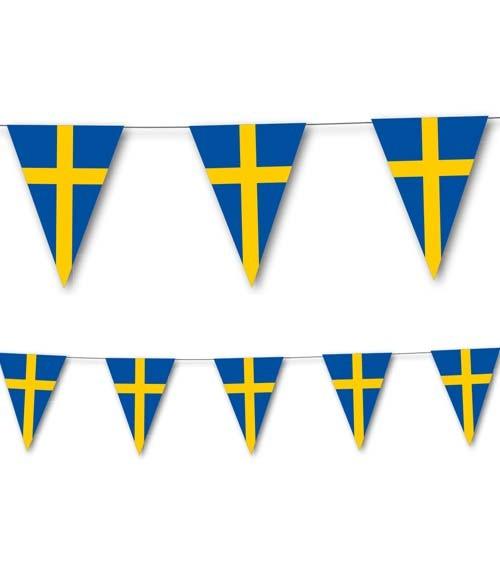 """Wimpelkette """"Schweden"""" - 3,5 m"""