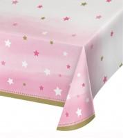 """Kunststoff-Tischdecke """"One Little Star - Girl"""" - 137 x 259 cm"""