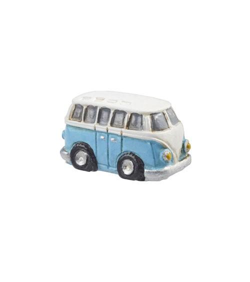 Mini Deko-Bus aus Polyresin - 3 cm