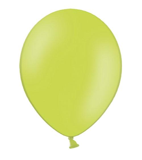 Standard-Luftballons - limegreen - 50 Stück