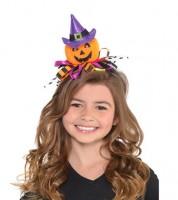 """Haarreif """"Halloweenkürbis"""""""