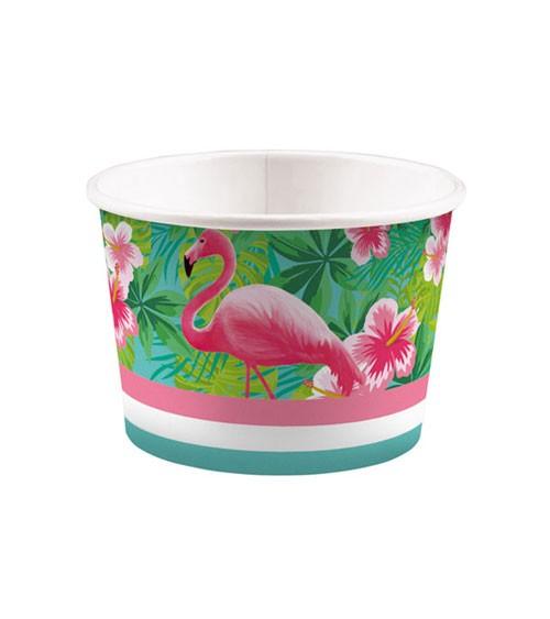 "Eisbecher ""Flamingo Paradise"" - 8 Stück"
