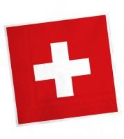 """Servietten """"Schweiz"""" - 20 Stück"""