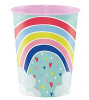 "Plastikbecher ""Over the Rainbow"""