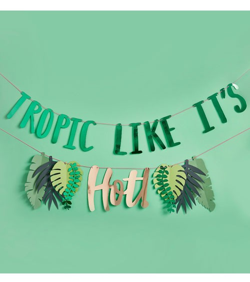 "Girlanden-Set ""Tropic Like it's Hot"" - 2 m"