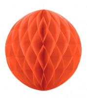 Wabenball - 30 cm - orange
