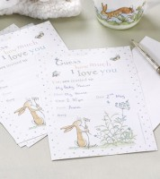 """Einladungskarten """"Guess how much I love you"""" - 10 Stück"""
