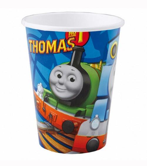 """Pappbecher """"Thomas und seine Freunde"""" - 8 Stück"""
