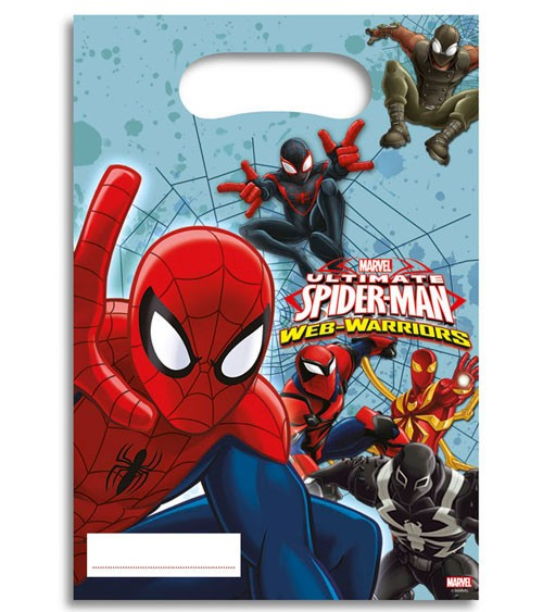 "Partytüten ""Ultimate Spiderman - Web Warriors"" - 6 Stück"