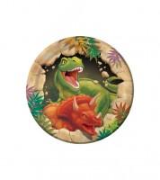 """Kleine Pappteller """"Dinosaurier"""" - 8 Stück"""